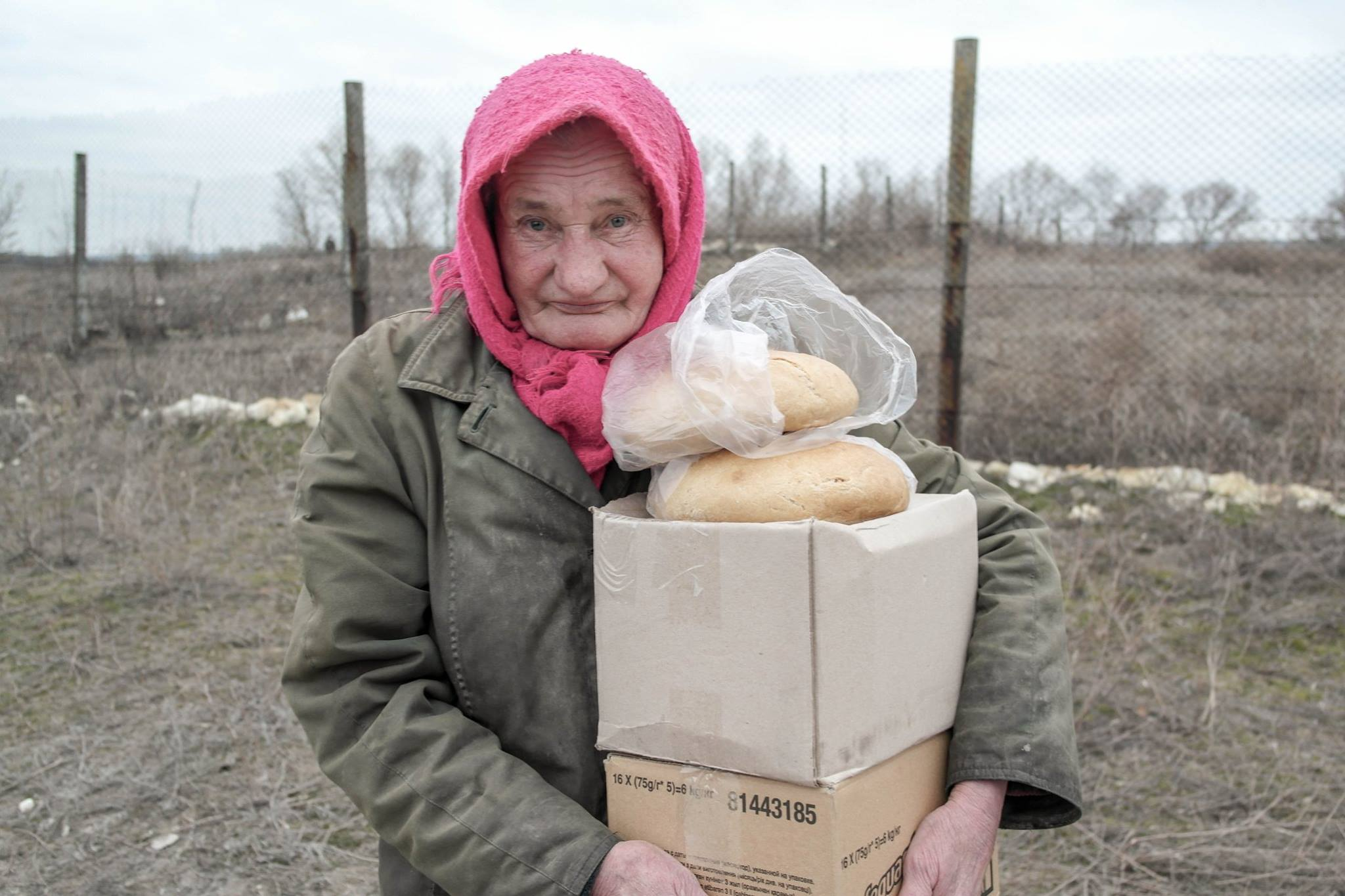 Postup provided aid for people in need in Eastern Ukraine.